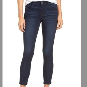 Wit & Wisdom Ab-solution Skinny Jeans in Indigo
